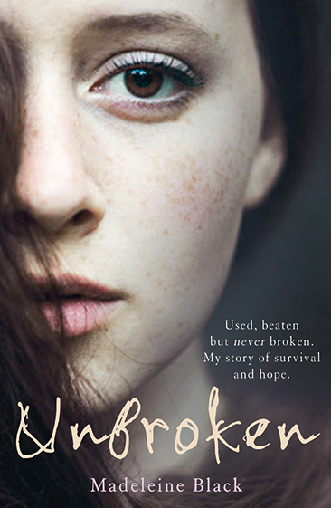 Cover of Madeleine Blacks debut memoir depicting half a young girls face