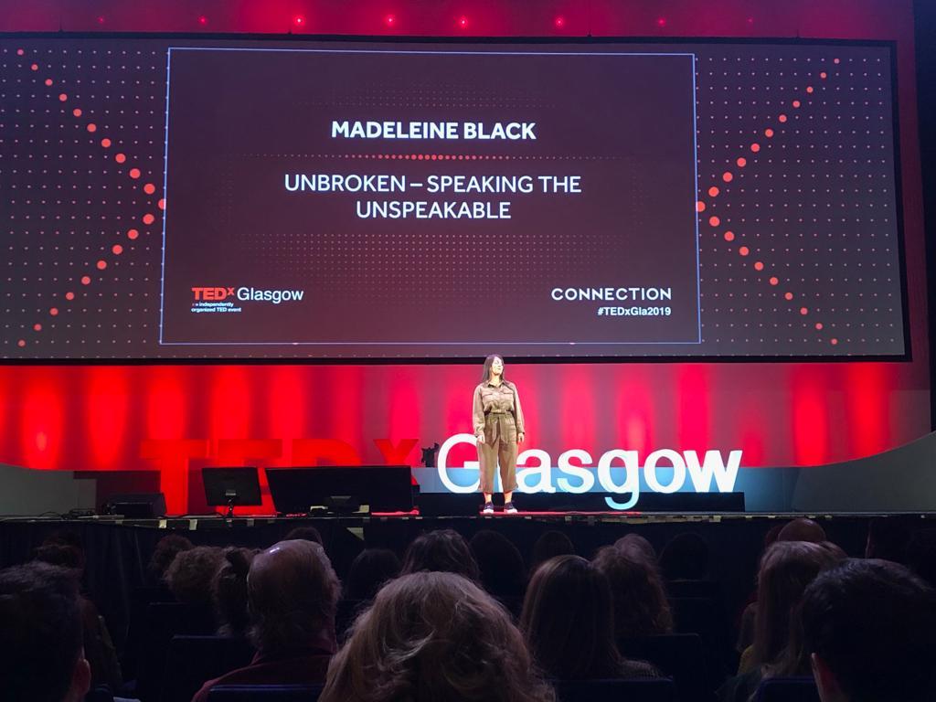 No more shame – my TEDx